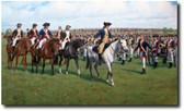 Saluting Washington (A/P) by Larry Selman - George Washington - Military Prints -