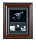 Mercury Atlas-1 Framed W Relic aviation art