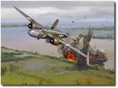 501st Bomb Squadron's Mission to Saigon – 28 April 1945NEW!