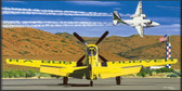And The Legend Flies On Aviation Art