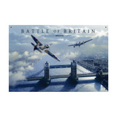 Battle of Britain Vintage Metal Sign 1