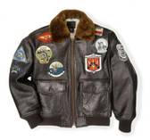 """Top Gun"" Navy G-1 Jacket"