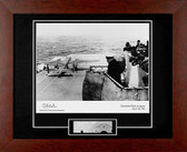 Doolittle Raid signed by Dick Cole with B25 metal skin