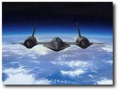 The Last Hot Flight by Dru Blair -  SR-71 Blackbird