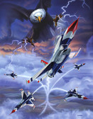High Bomb Blast - F-16 Thunderbirds
