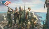 Iwo Jima, the First Flag
