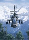 Rising Force by Dru Blair - AH-64 Apache