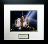 """Columbia"" on Launch Pad - Joe Engle"