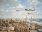Spitfires Over London