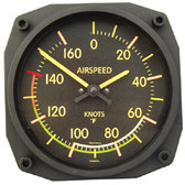 Vintage Airspeed Indicator Thermometer