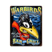 USAF Warbirds Metal Sign