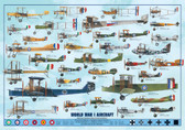 WWI Planes (ERO-01)   Aviation Art