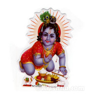 Sweet Krishna Sticker