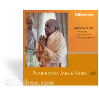 Prabhupada Japa & More, CD