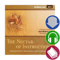 The Nectar of Instruction, Audiobook Download