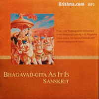 Bhagavad-gita As It Is: Sanskrit, Audiobook Download