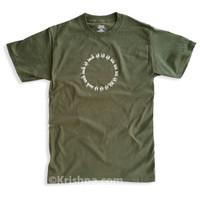 Circular Mantra T-Shirt, Moss