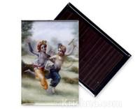 Krishna & Balarama Play Magnet