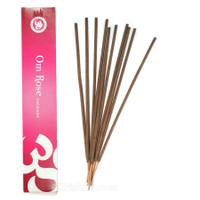 Om Rose Incense, 15 grams