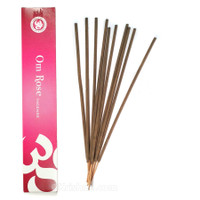 Om Rose Incense, 15 grams