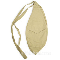 X-Large Cotton Bead Bag, Pocket, Khaki