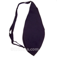 X-Large Cotton Bead Bag, Navy Blue
