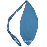 X-Large Cotton Bead Bag, River Blue