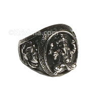Ekadanta Ganesha Stainless Steel Ring