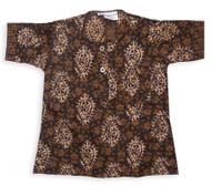 Toddlers' Batik Cotton Kurta