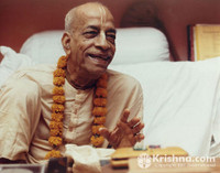 "Srila Prabhupada Photo, Mayapur Smiling, 11""x14"""