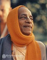 "Srila Prabhupada Photo, Quintessential Smile, 11""x14"""