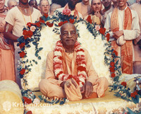 "Srila Prabhupada Photo, Surrounded by Love, 11""x14"""