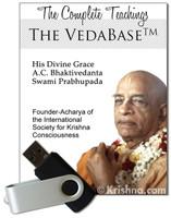 The Bhaktivedanta VedaBase 2017, USB