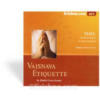 VIHE Seminar, Vaisnava Etiquette, MP3 CD
