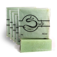 Suchi Soap, Mint, Six Bars