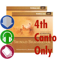 Srimad Bhagavatam, Audiobook Download, 4th Canto Only