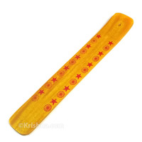 Wooden Incense Burner, Yellow Stars & Sandesh