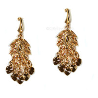 Abhistada Earrings, 18k Gold Plate