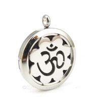 Essential Oil Diffuser Pendant, Lotus Om