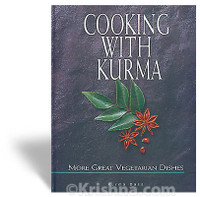 Cooking With Kurma, More Great Vegetarian Dishes, Softbound