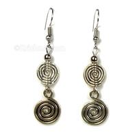 Rai Spiral Earrings