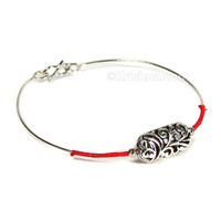 Rohini Bracelet, Rangini Metal Bead