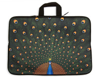 "Peacock Laptop Sleeve Case, 17"" Laptop"