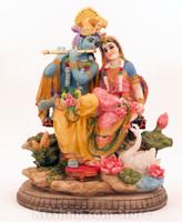 """Radha & Krishna Asana, 10"""""""