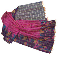 Heirloom Kantha Wrap, Subhadra