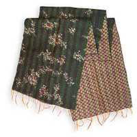 Heirloom Kantha Scarf, Nagavali