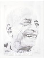 Srila Prabhupada, Smile, Lithograph