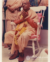 "Srila Prabhupada Photo, Happiness, 8""x10"""