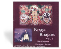Krsna Bhajans, Volume 5, CD