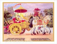 Krishna Kidnaps Rukmini Poster, Large